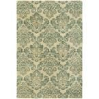 Seville Beige/Jade 8 ft. 6 in. x 11 ft. 6 in. Area Rug