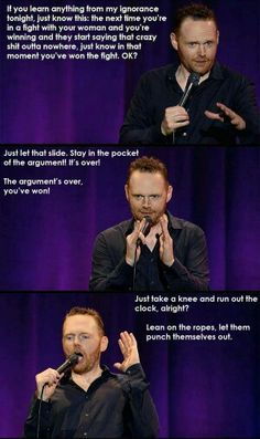 Advice - tiffs with your girl by Bill Burr