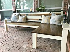 Jak jsem postavil svůj tvaru L DIY Backyard Bench za $ 130, udělil 2. místo v IG stavitelů Challenge, sezóna 3. Tyto DIY Backyard Bench plány jsou poměrně jednoduchá.  Prostě nějakou dobu trvat.  Můžete snadno upravit tyto DIY dřevěné lavici plány na správnou velikost pro váš prostor.