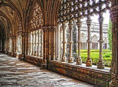 Claustros do Mosteiro da Batalha - Batalha, Leiria History Images, Where To Go, Touring, Wander, Architecture, World, Places, Islands, Rest