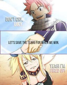 This scene made me cry!) Fairy Tail Nalu (Natsu and Lucy). Thank you to the creator! Fairy Tail Lucy, Fairy Tail Nalu, Fairy Tail Guild, Fairy Tail Ships, Fairytail, Gruvia, Gajevy, 5 Anime, Anime Fairy