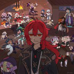 Susanoo, Albedo, Mood Pics, Anime Demon, Cute Art, Anime Characters, Anime Art, Fanart, Sketches