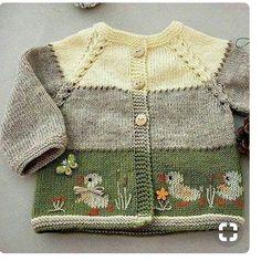 Baby cardigan with häkeln , Knitting pattern baby cardigan.Baby cardigan with Strickmuster-Babyjacke. Baby Knitting Patterns, Pattern Baby, Baby Cardigan Knitting Pattern, Baby Blanket Crochet, Baby Patterns, Crochet Baby, Crochet Patterns, Afghan Crochet, Afghan Blanket