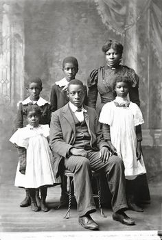 THE HIGDON FAMILY | THE BLACK VICTORIANS | 1898