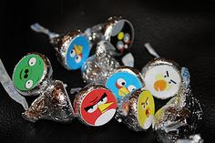 angry birds hershey kisses