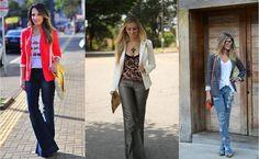 Calça flare: ideal para criar looks fashionistas descomplicados - Dicas de Mulher