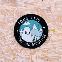 Sad Ghost Club Badge