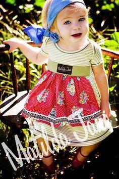 Matilda Jane Clothing.  Adorable girls clothing!  I used to work for them. :)