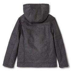 Urban Republic Boys' Hooded Bomber Jacket - Charcoal (Grey) 10-12, Size: 10/12