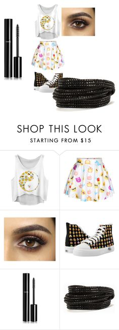 """""""iphone crazy"""" by badwitch-69 on Polyvore featuring Chanel and Pieces"""