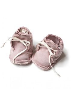 Gray Label Scarpine Baby Rosa - 100% Cotone Bio Morbidissimo Pantofole Rosa  Vintage 2af758eaaff