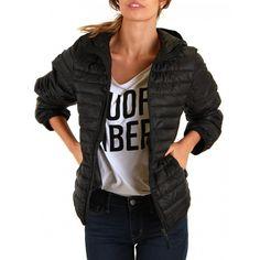 Black Puffer Jacket-STILLWATER SUPPLY CO. - Outerwear - Women