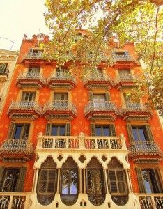 Art Nouveau buildings in Exaimple. BARCELONA--but why does this picture keep showing up under HELSINKI?