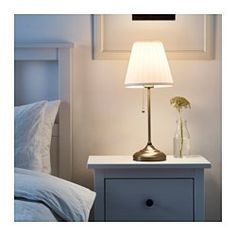 IKEA - ÅRSTID, Table lamp, , Fabric shade gives a diffused and decorative light.
