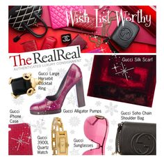 """Luxe Wish List with The RealReal"" by designsbytraci on Polyvore"