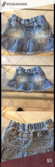 24 months Baby Legend skirt good condition Size 24 months Baby Legend Jean skirt good condition Baby Legends Bottoms Skirts