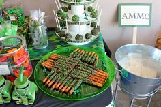 fun easy snack for army party