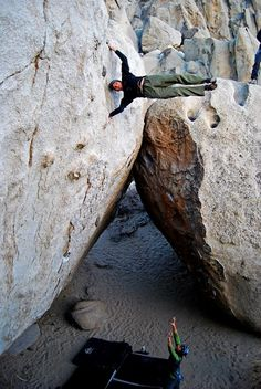 I've been to this boulder