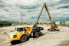 Construction Photography on Behance - Garry Owens