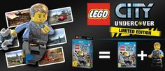 Lego City: Undercover Limited Edition Wii U, Nintendo Wii, Lego City, Undercover, Van, Vans, Vans Outfit
