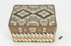 Culture/People: Mi'kmaq (Micmac) Object name: Box with cover Date created: Native American History, American Indians, Birch Bark Baskets, I See Red, Beaded Boxes, Nativity Crafts, Little Boxes, National Museum, Quilling