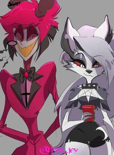 Character Design Animation, Character Art, Monster Hotel, Hazbin Hotel Angel Dust, Alastor Hazbin Hotel, Villainous Cartoon, Hotel Trivago, Vivziepop Hazbin Hotel, Cartoons