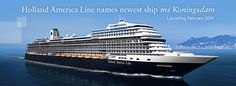 Cruises to Alaska, Europe, the Caribbean, Mexico and the world on Holland America, one of the best cruise lines