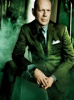 Bruce Willis by Mario Testino