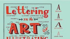 "On the Creative Market Blog -  Understanding ""Lettering Anatomy"" makes Graphic Design Much Easier"