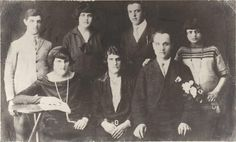 חתונת אבי אהרון גפן ואמי סבינה גפן - 1929