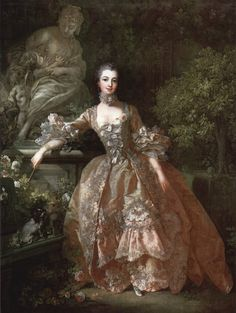 Madame Pompadour by Boucher. Also know as Jeanne Antoinette Poisson, Marquise de Pompadour. Official mistress of Louis XV of France. Madame Pompadour, Pompadour Style, French History, Art History, History Jokes, History Class, Marie Antoinette, Fashion Bubbles, Rococo Fashion