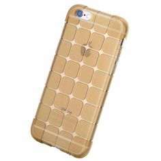 Rock ultra thin transparent TPU Soft Case Cover for iPhone 6 / 6s Plus 4.7 5.5 inch shockproof back cover