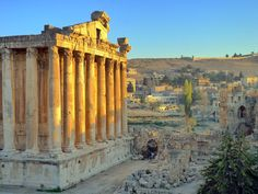 Baalbek, Lebanon.  The Motherland.  Tear.