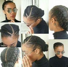 Updos For Type 4 Natural Hair, Natural Hairstyles, Holiday, Healthy Hair, Black Girl, Make Up, Make Up and Hair