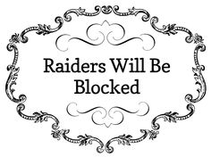 If you raid someone's board, ( taking a large number of pins) the person you raid may block you and then they will pass your name around to their other Pinterest friends who will also block you even though you haven't even been to their board. They do this so you won't come raid them. It's not good to get a reputation as a raider.