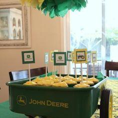 John Deere Tractor Birthday Party {Fun Birthday Ideas}