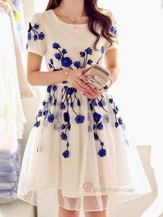 Women Summer Spring Casual Dress