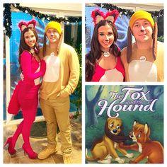 fox and the hound couples costume couple halloweendiy halloween costumeshalloween