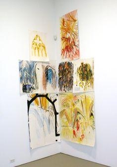 Raymond Pettibon » No Title (Cathedral Group)David Zwirner