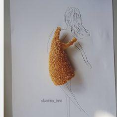 Το κουλούρι που έγινε φόρεμα #sketch #sketching #drawing #pen #illustration #art #instaart #dress #bread #woman #dancing #artistsoninstagram