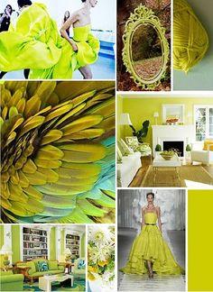 Inspirationen in Chartreuse!   Kerstin Tomancok Farb-, Typ-, Stil & Imageberatung