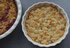 Red or White Currant Crumble