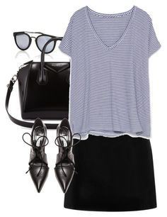 """""""Untitled #3405"""" by amyn99 ❤ liked on Polyvore featuring Taylor Morris, Givenchy, Marc Jacobs, Zara and Balenciaga"""