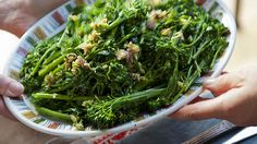 Broccoli shoots with spring garlic and anchovy recipe : SBS Food Anchovy Recipes, Garlic Recipes, All Recipes Chili, Spring Garlic, Sbs Food, Steamed Broccoli, Red Chilli, Food Categories, Recipe Using