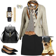 """""""Absent Minded Professor"""" by crewstyle on Polyvore"""