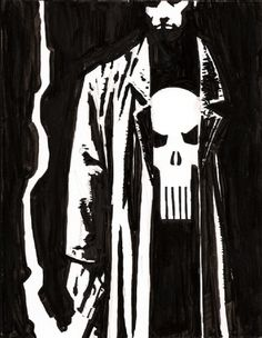 The Punisher by David Aja. I am mainly drawn t the Vigilante's of the Comic World, Punisher is always a top one for me.