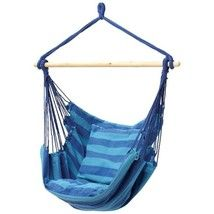 NEW Club Fun™ Hanging Rope Chair   Multi-Color - $49.97