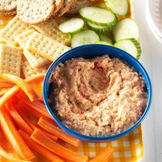 Roasted Vegetable Dip Recipe -While my children were always very willing eaters, I came up with this recipe to get them to eat more veggies and enjoy it. The dip doesn't last long in our house. —Sarah Vasques, Milford, New Hampshire Appetizer Dips, Appetizers For Party, Thanksgiving Appetizers, Dip Recipes, Cooking Recipes, Cooking Ideas, Veggie Recipes, Easy Recipes, Keto Recipes