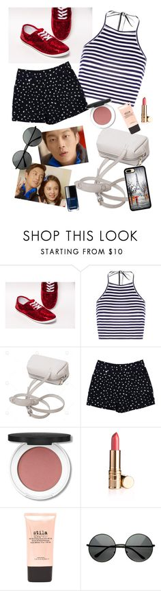 """meet me in Paris"" by elliewriter ❤ liked on Polyvore featuring Boohoo, Marc by Marc Jacobs, Stila and Chanel"