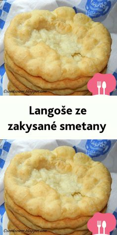 Langoše ze zakysané smetany Czech Desserts, Vegan Desserts, Best Dinner Recipes, Snack Recipes, European Dishes, Good Food, Yummy Food, Czech Recipes, Vegan Meal Prep